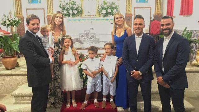 Anjo Nelson Rosado batiza filho mais novo