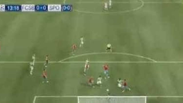 Doumbia fez assim o primeiro golo na Roménia