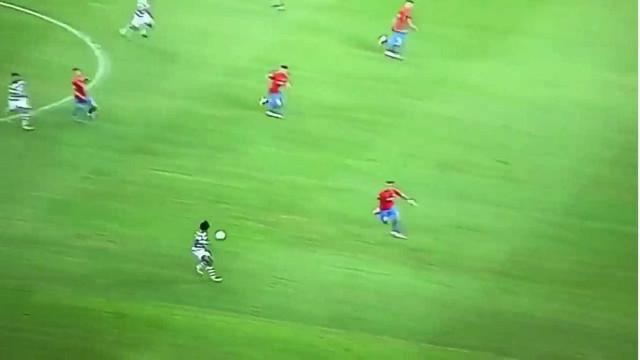 Gelson Martins marca o terceiro dos leões