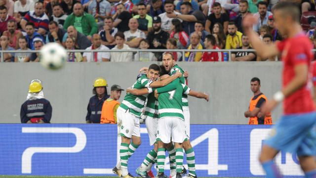 Leão ruge na Roménia e promete luta na fase de grupos da Champions