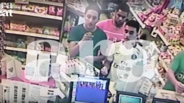 Reveladas últimas imagens dos terroristas antes do atentado de Cambrils