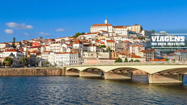 Viagens no Meu Distrito: Coimbra tem mais encanto na hora... do voto?
