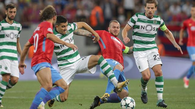 FC Porto terá feito proposta por Alibec no intervalo do Steaua-Sporting