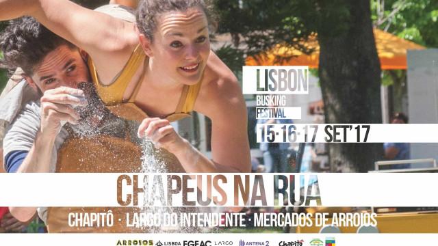Durante três dias, haverá 'Chapéus na Rua' em Lisboa