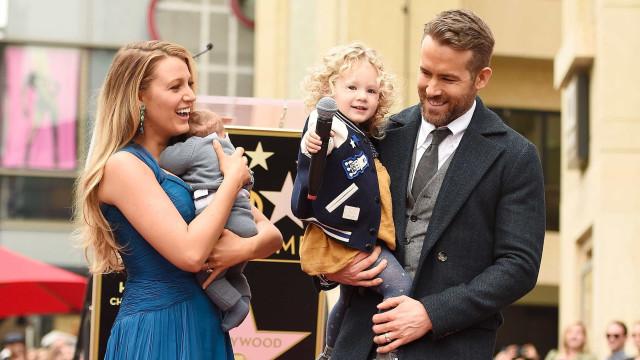 Quantos filhos quer ter Ryan Reynolds? Quase uma equipa de futebol