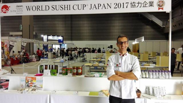 Miguel Bértolo sagra-se segundo melhor sushiman em competição mundial