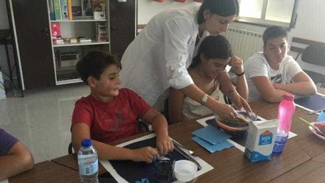 Estes quatro jovens trocaram férias por workshops de alimentação saudável