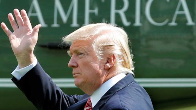 Nova gaffe de Trump desta vez com o 'Top Gun'