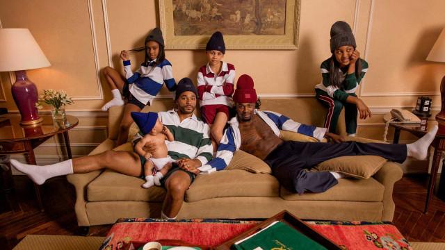 Primeira família LGBT negra protagoniza campanha de moda