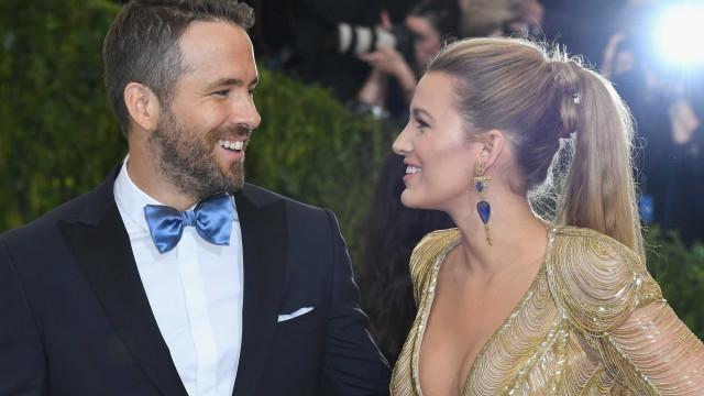 Ryan Reynolds levou a expressão 'cara metade' a outro nível