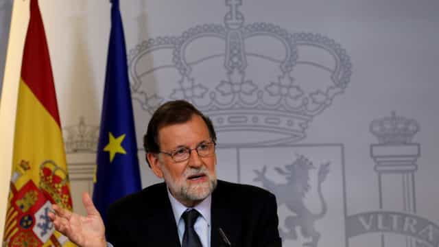 "Rajoy adverte que insistir no referendo na Catalunha só causa ""tensão"""