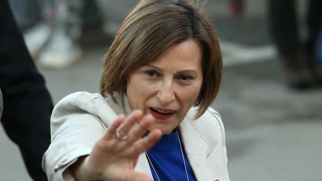 Presidente do Parlamento catalão ouvida já entrou no Supremo em Madrid
