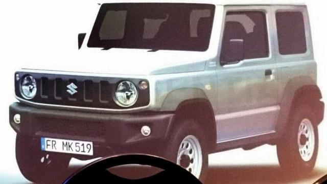 Lembra-se do Suzuki Jimny? Vai 'voltar à vida'... e já há imagens