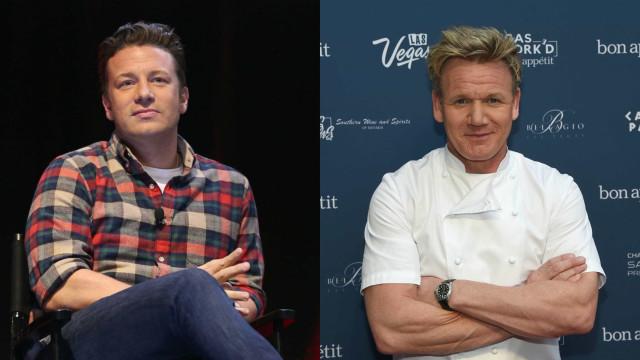 Jamie Oliver insinua que Gordon Ramsay sofre de demência