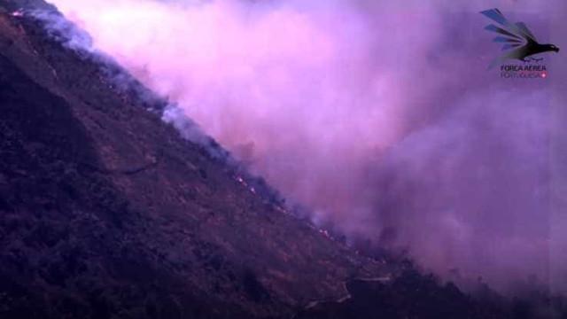 Força Aérea detetou 43 focos de incêndio de 19 a 21 de agosto
