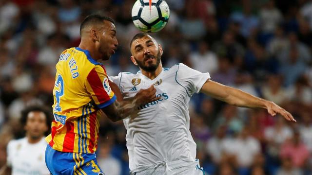 Valencia prega rasteira ao Real Madrid em pleno Santiago Bernabéu