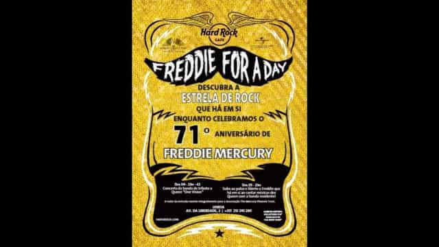 'Freddie For A Day' no Hard Rock Cafe Lisboa