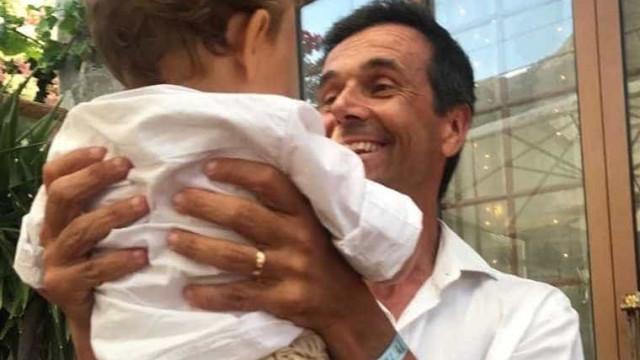 """Jorge Gabriel batiza filho mais novo: """"Cerimónia simples mas tão bonita"""""""