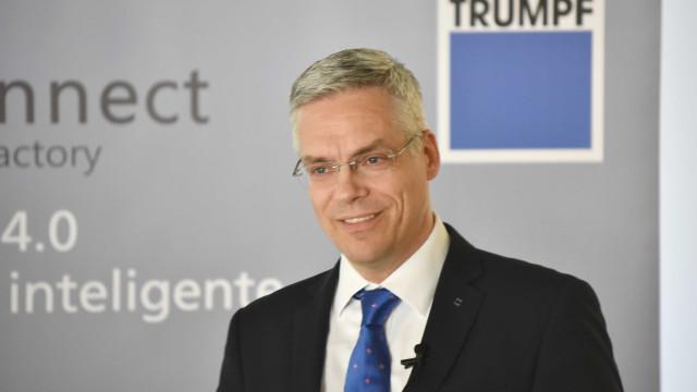 Gigante alemã Trumpf prevê crescimento de 54% em Portugal