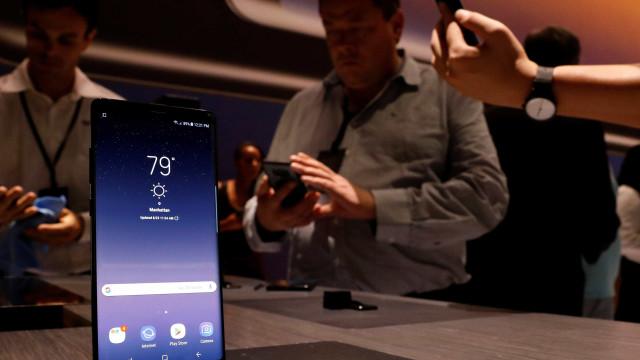 Próximo topo de gama da Samsung terá cinco cores?
