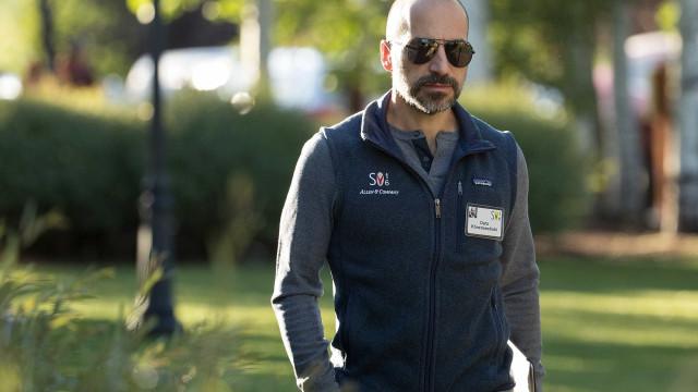 """Novo CEO da Uber confessa-se """"assustado"""" com o cargo"""