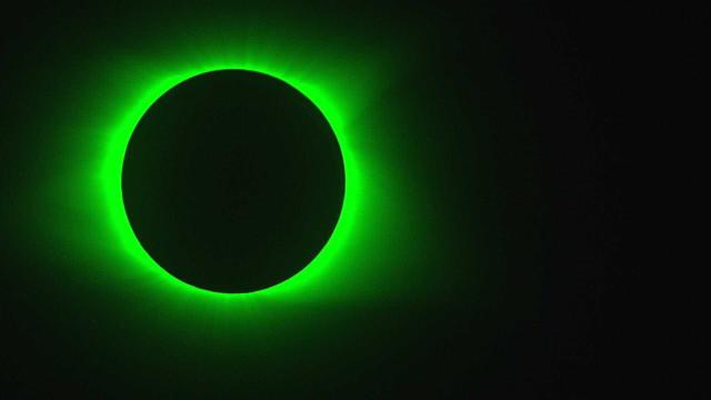 NASA partilhou imagens únicas do eclipse solar