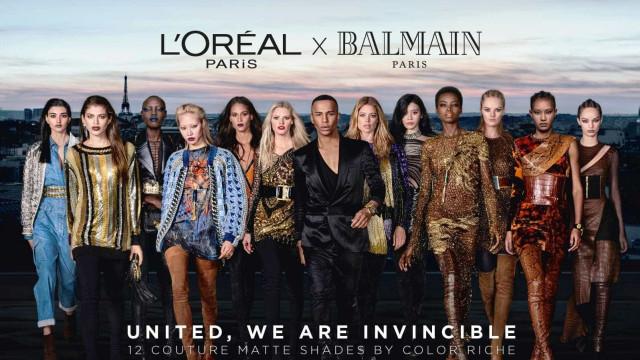 L'Oréal Paris x Balmain Paris. A parceria mais esperada está aí