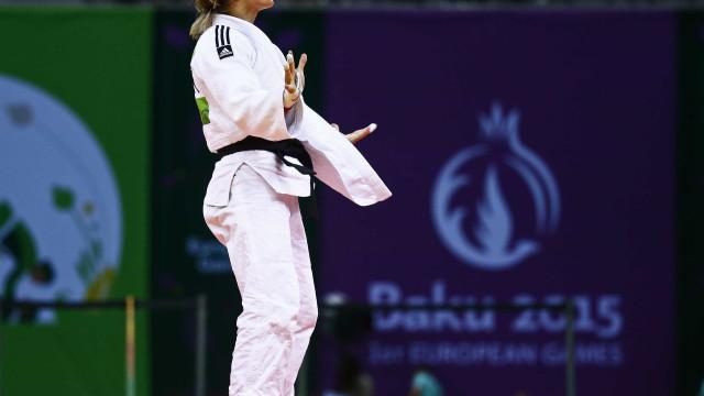 Helene Receveaux 'rouba' medalha de bronze a Telma Monteiro nos Mundiais
