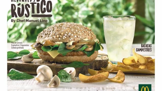 A McDonald's apresenta o seu primeiro hambúrguer de autor português