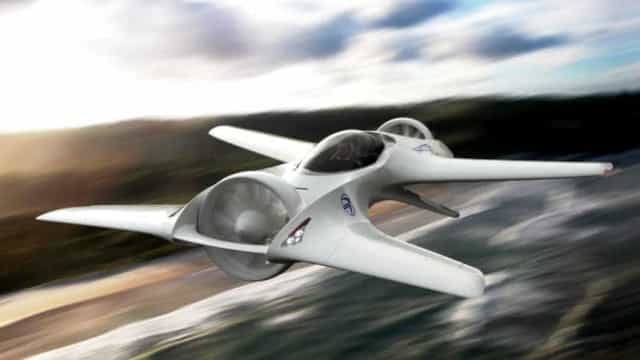 DeLorean faz aposta nos automóveis voadores