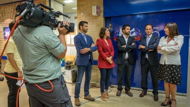 Cinco principais candidatos debateram Lisboa pela primeira vez