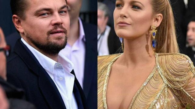Revelada curiosidade inusitada do namoro entre Blake Lively e DiCaprio