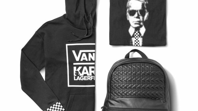 O que une Vans e Karl Lagerfeld? Uma coleção inédita prestes a chegar