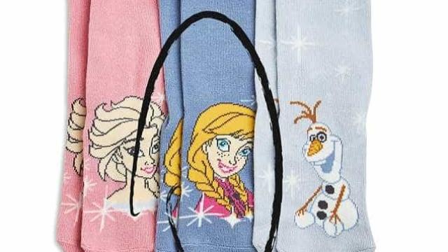 Atenção, meias da 'Frozen' têm produto cancerígeno. Pede-se devolução