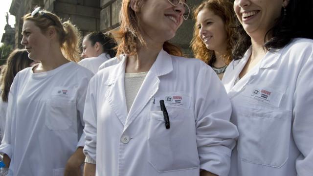 Técnicos de diagnóstico e terapêutica voltam à greve e concentrações
