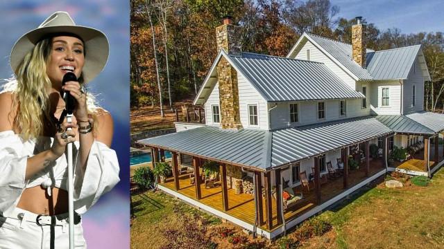 Miley Cyrus compra quinta de 5,8 milhões no Tennessee