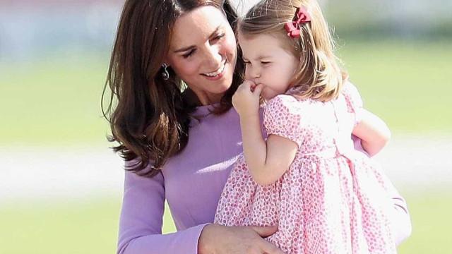 Charlotte herdou paixão (e talento) da avó, princesa Diana
