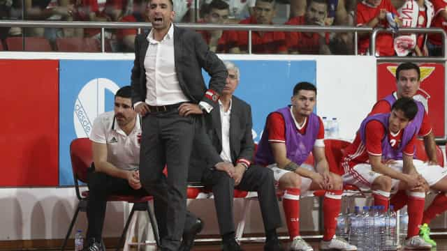Benfica venceu o dérbi de Lisboa e segue para as 'meias'