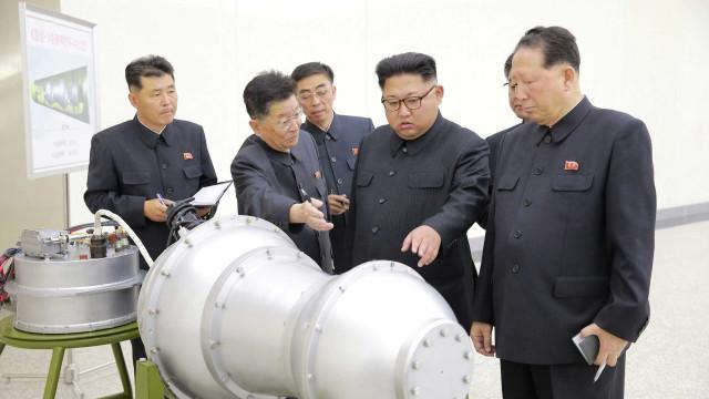 Área de testes nucleares da Coreia do Norte poderá ter colapsado