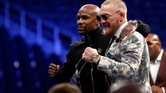 """Depois de receber 30 milhões, McGregor admite que tudo foi um """"circo"""""""