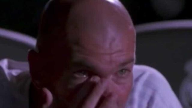 Zidane foi surpreendido e as lágrimas caíram em segundos