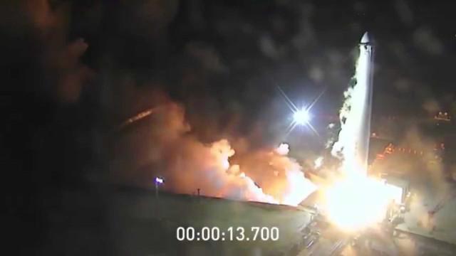 SpaceX partilha vídeo dos testes ao foguetão Falcon Heavy