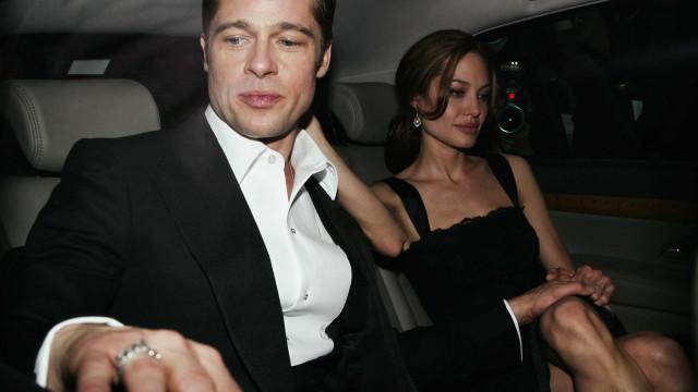"""""""Caíram nos braços um do outro"""". Jolie e Pitt a caminho da reconciliação?"""