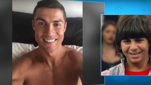 Ronaldo realiza sonho de fã brasileiro e leva-o às lágrimas