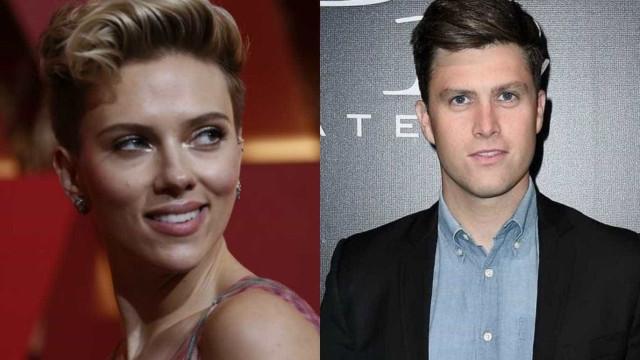 Scarlett Johansson e Colin Jost estão noivos