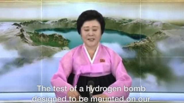 A avó de 74 anos que dá voz aos entusiastas anúncios da Coreia do Norte