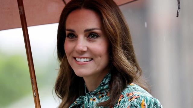 Depois de anunciar gravidez, Kate Middleton surge em campanha solidária