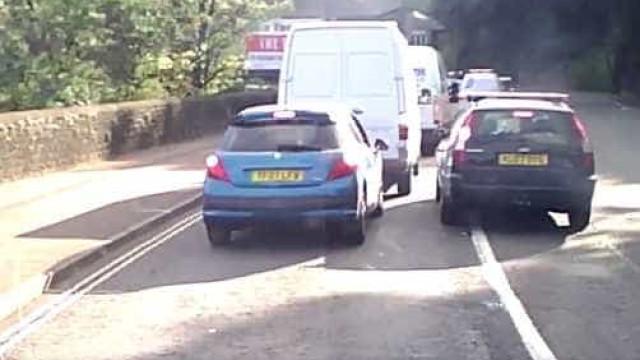 Esta condução imprudente pode tirá-lo do sério