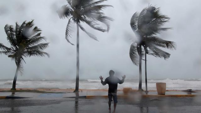 """Não há """"portugueses afetados"""" por Irma mas houve dois pedidos de apoio"""