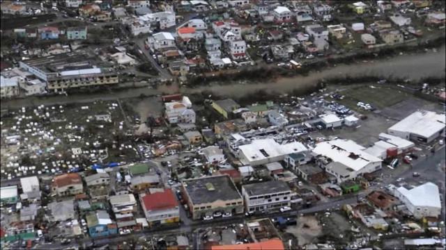 Governo holandês mostra vídeo da destruição em St. Maarten